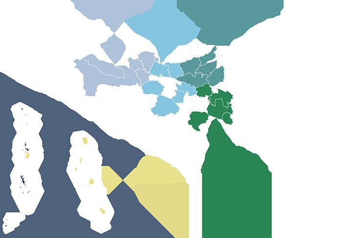 東京都多摩ブロック地図の画像710px487px